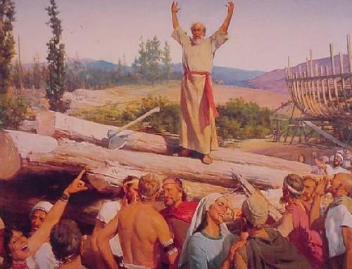 Noé construit l'Arche