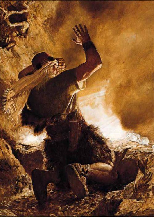 Le doigt de Dieu - The Finger of the Lord