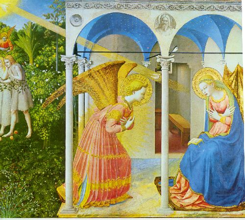 L'Annonciation - Fra Angelico