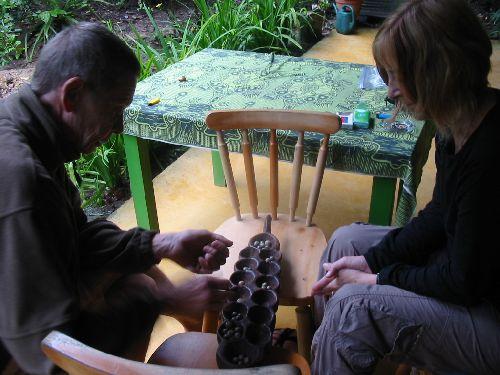 Stage d'awalé dans la jungle, au Tucan Jungle Lodge, chez Irène et Wolf