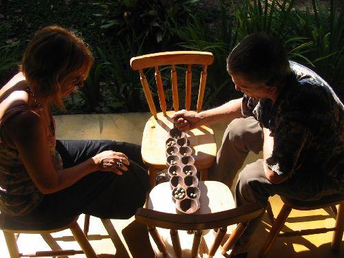 Stage d'awalé dans la jungle du Costa Rica, chez Irène et Wolf