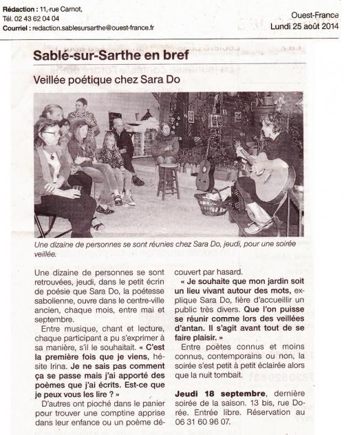 Article Ouest France Jardin péotique sara Do.jpg