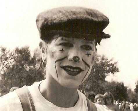 Sara Do (Domie) - Clownerie à Triaize (Vendée)1984