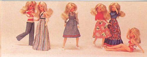 Tenues BellaJoy de 1977