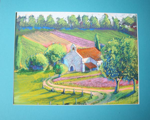 paysages eglise pastels gras (1).jpg
