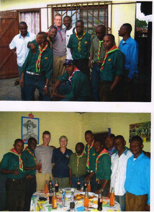 Le Commissariat Général des EELC et la delegation des Scouts Anglais