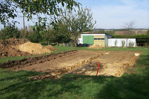 Le terrassement et les fondations maison ossature bois for Terrassement et fondation
