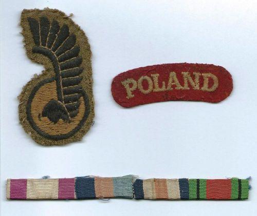 Insignes du sergent Ankierski, 2eme PaMot