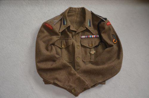 Battle-dress de sergent du 8ème bataillon de chasseurs
