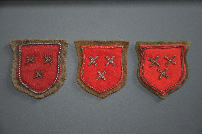 Insignes honorifiques du 8ème bataillon de chasseurs
