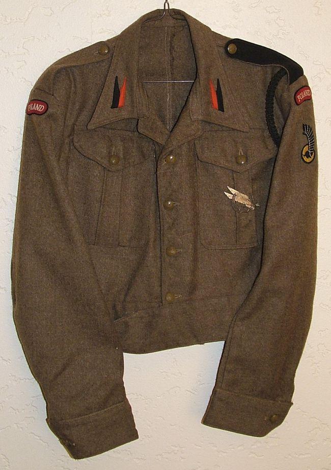 Battle-dress des unités du génie divisionnaire