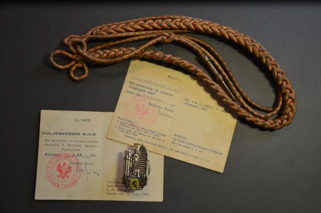 Grouping d'un soldat du 9ème bataillon de chasseurs des Flandres
