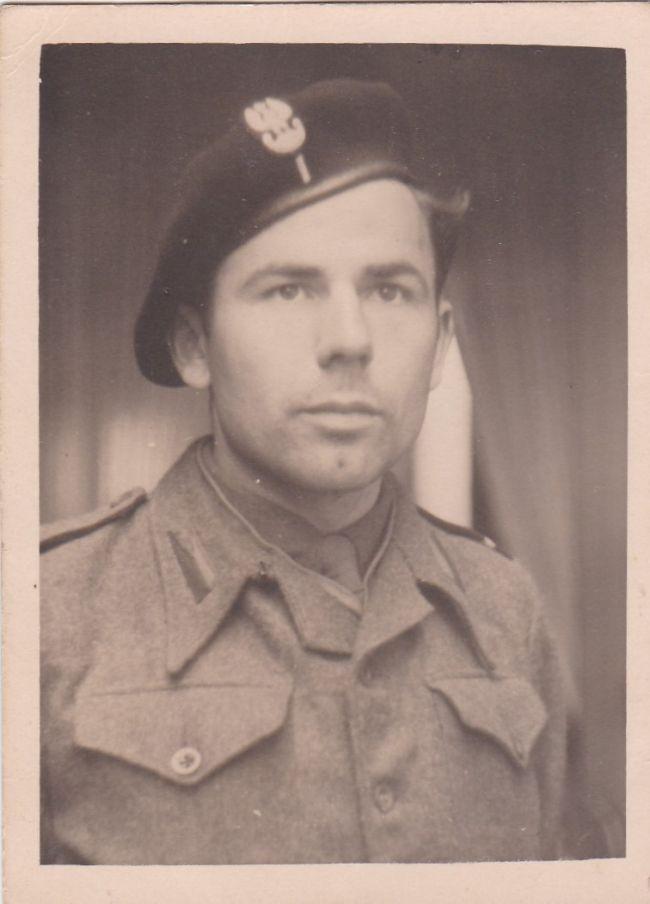 Soldat du 8ème bataillon de chasseurs