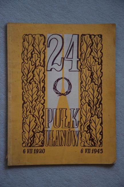 Livre du 24ème régiment de Lanciers