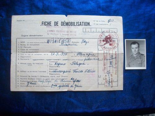 Document d'un membre du Génie de la 1ère DB