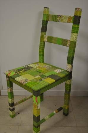chaise verte l'art et création (1).JPG