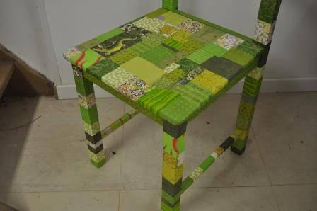chaise verte l'art et création (3).JPG