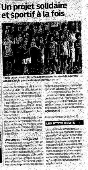 Article Sud Ouest Pays Basque début Oct.JPG