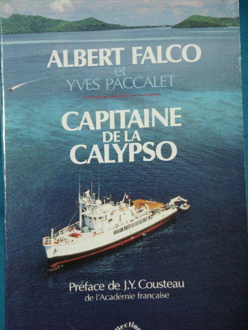 A.FALCO  CAPITAINE DE LA CALYPSO