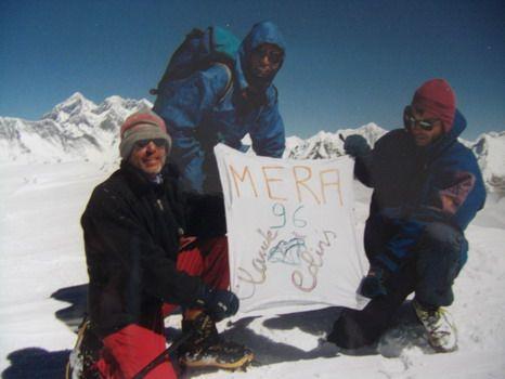 le sommet pour 3 des 5 membres