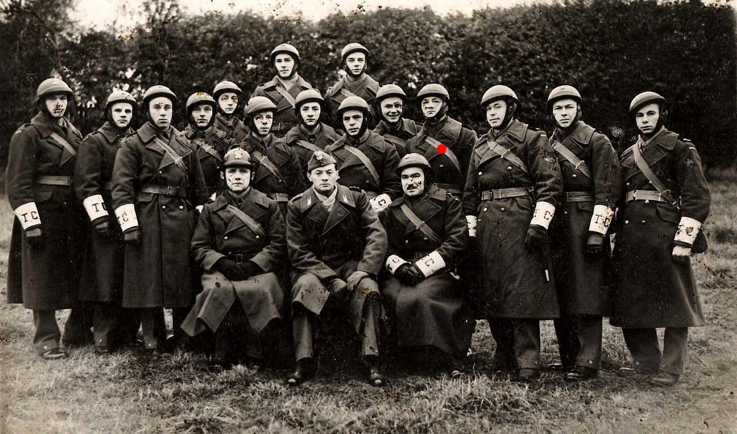 Staff-Sergeant Zygmunt Sawicki,Traffic Control Squad.