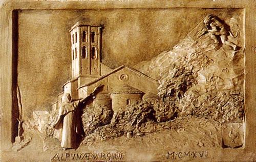 Tableau légende de Notre Dame d'Aubune.jpg
