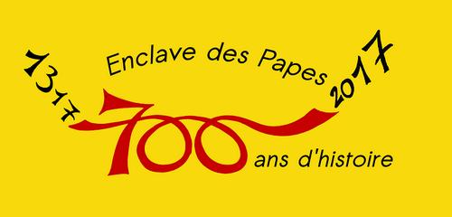 LOGO 700ans enclave des papes 2016.png