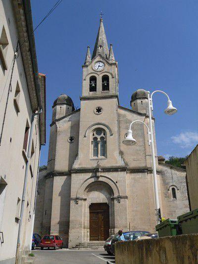 Eglise paroissiale à Mondragon