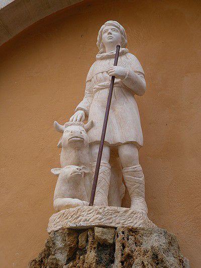 Statue de Saint-Gens à Monteux