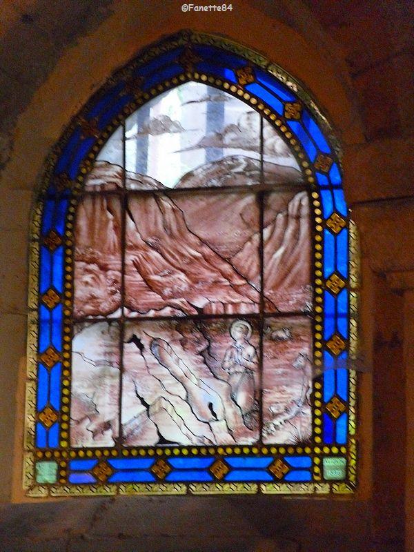 Vitrail de l'église de St Gens