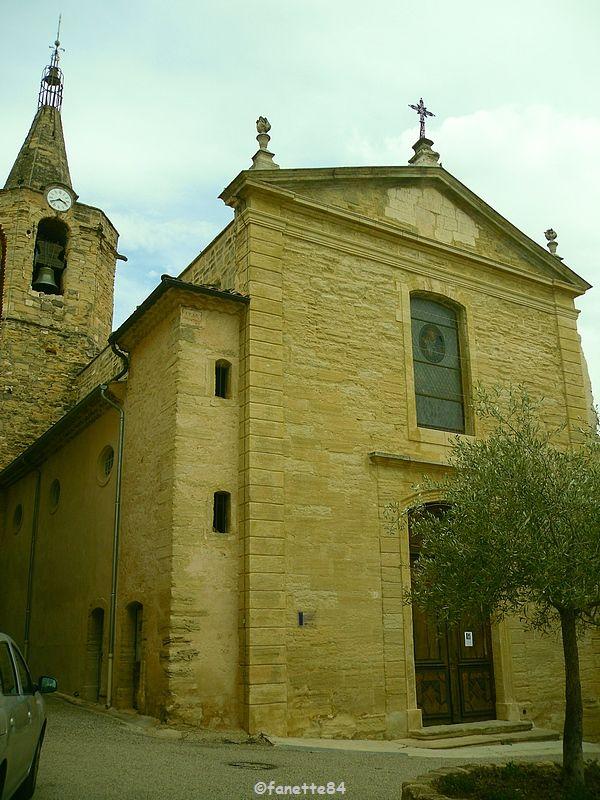 L'église de Notre Dame de Calvias à Malemort Du Comtat