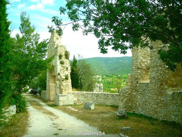 Remparts à Méthamis