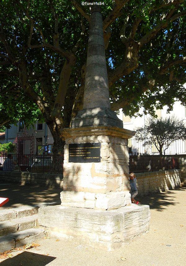 Monument à Bédoin