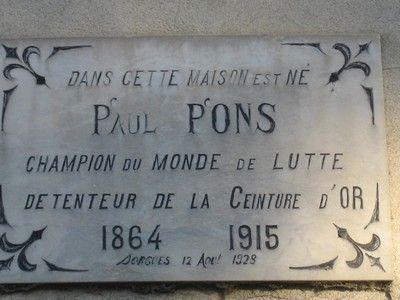 plaque de Sorgues