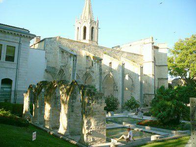 Ruine su Square Agricol Perdiguier à Avignon
