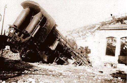 UNE PACIFIC EN DIFFICULTES EN 1944