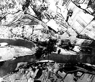 AVIGNON 1944 VIADUC DU RHONE