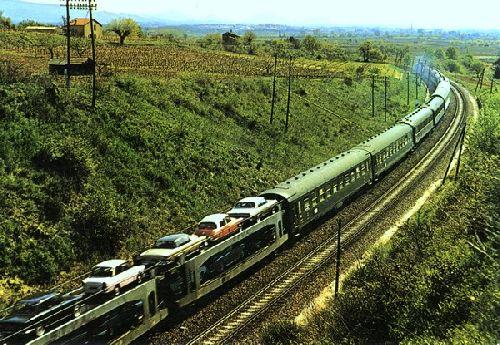 TRAIN AUTO COUCHETTES