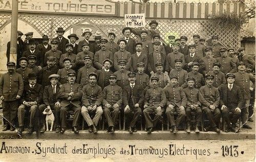 tramways avignon