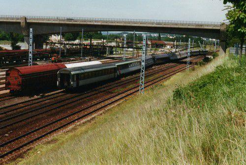 Déraillement Train GL n° 4308 Riviera Flandre