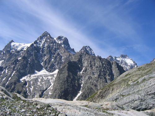 Un vrai balcon sur le Pelvoux (3932 m)