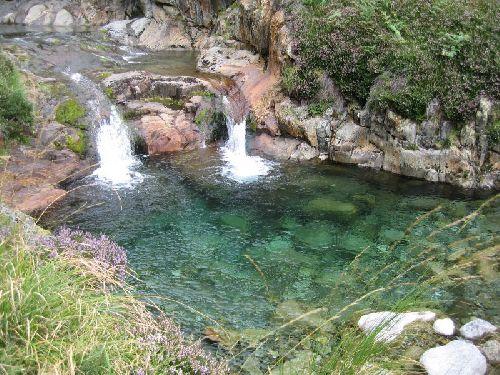 Bien sympa la piscine du ruisseau de l'Artigue, bien froide aussi!
