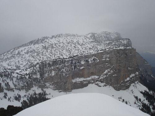 Vers la montagne de Glandasse...