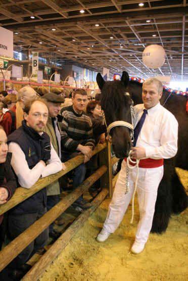 Le Trait du Nord au Salon de l'agriculture de Paris en 2006