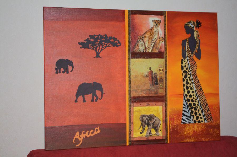 Decor Girafe En Bois