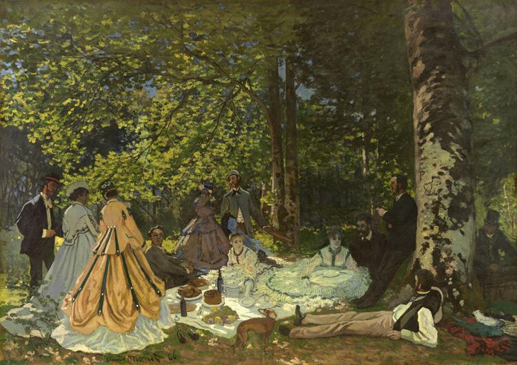 Claude-Monet-Le dejeuner sur l'herbe 1866 -o.jpg