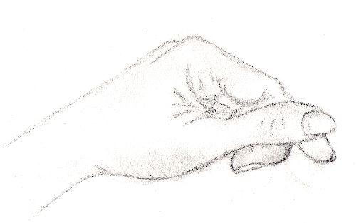 Peinturesfolies - Main dessin crayon ...