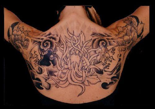 Photos tatoo me - Fleur de lotus bouddhisme ...