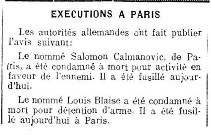 LE JOURNAL DU VALAIS 26 01 1942 BLAISE L.JPG