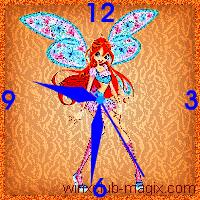winx clock bloom believix horloge